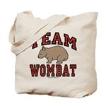 Team Wombat III Tote Bag