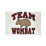 Team Wombat III Rectangle Magnet