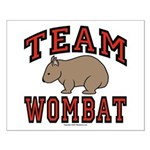 Team Wombat III Small Poster