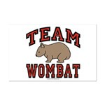 Team Wombat III Mini Poster Print