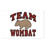 Team Wombat III Postcards (Package of 8)