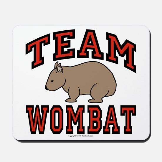Team Wombat III Mousepad