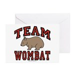 Team Wombat III Greeting Cards (Pk of 20)