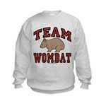 Team Wombat III Kids Sweatshirt
