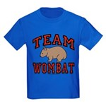 Team Wombat III Kids Dark Colored T-Shirt