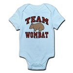 Team Wombat III Infant Bodysuit