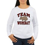 Team Wombat III Women's Long Sleeve T-Shirt