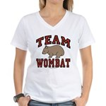 Team Wombat III Women's V-Neck T-Shirt