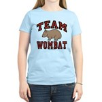 Team Wombat III Women's Light Colored Tee-Shirt