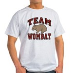Team Wombat III Light Colored T-Shirt