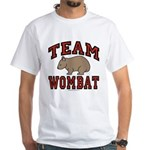 Team Wombat III White T-Shirt