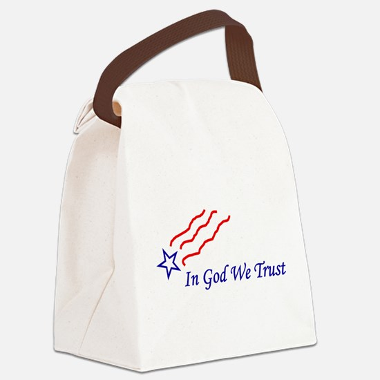 In God Star Canvas Lunch Bag