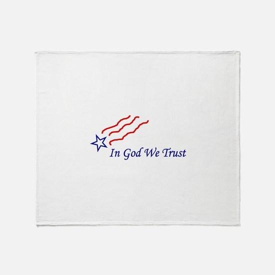 In God Star Throw Blanket
