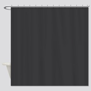Charcoal Gray Shower Curtain