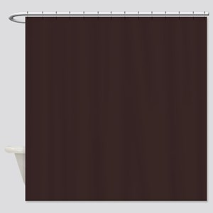 Ancient Dark Brown Shower Curtain