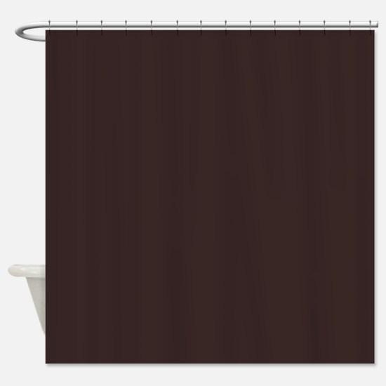 Ancient Dark Brown Shower Curtain
