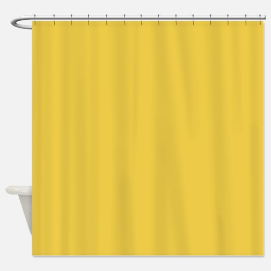 Ancient Yellow-Gold Shower Curtain