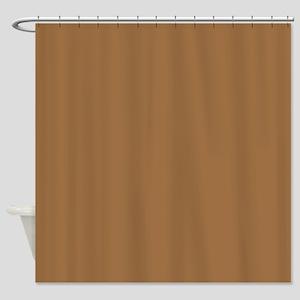 Ancient Dark Amber Shower Curtain