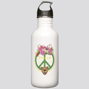 Peaceful Pitbull Stainless Water Bottle 1.0L