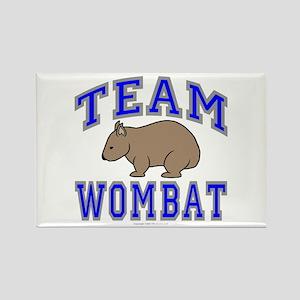 Team Wombat II Rectangle Magnet