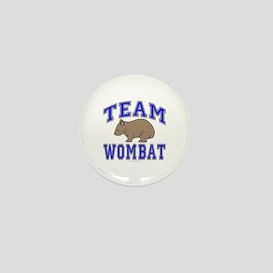Team Wombat II Mini Button
