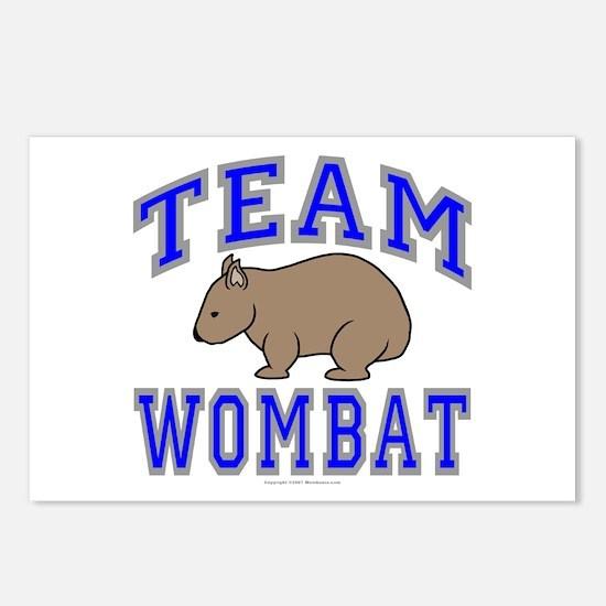 Team Wombat II Postcards (Package of 8)