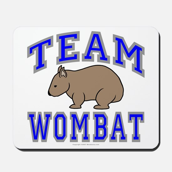 Team Wombat II Mousepad