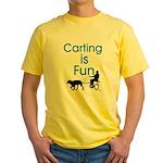 Carting is Fun JAMD Yellow T-Shirt