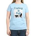 Carting is Fun JAMD Women's Pink T-Shirt