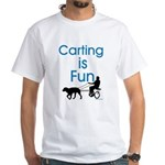 Carting is Fun JAMD White T-Shirt