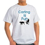 Carting is Fun JAMD Ash Grey T-Shirt