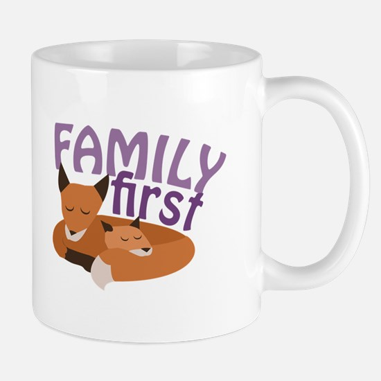 Family First Mugs