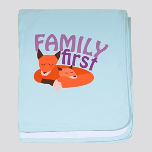 Family First baby blanket