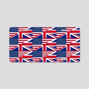 uk usa Aluminum License Plate