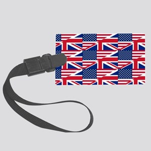uk usa Large Luggage Tag
