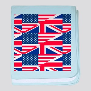 uk usa baby blanket