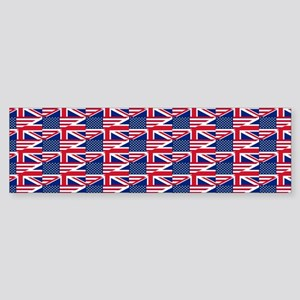 uk usa Bumper Sticker