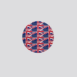 uk usa Mini Button