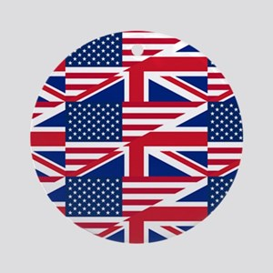 uk usa Ornament (Round)