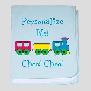 Choo Choo Train baby blanket