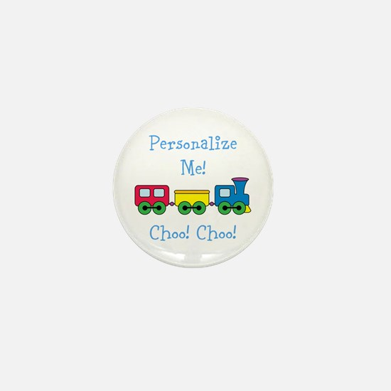 Choo Choo Train Mini Button