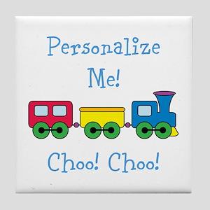 Choo Choo Train Tile Coaster