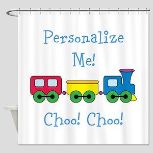 Choo Choo Train Shower Curtain