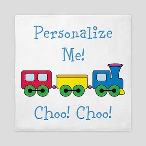 Choo Choo Train Queen Duvet