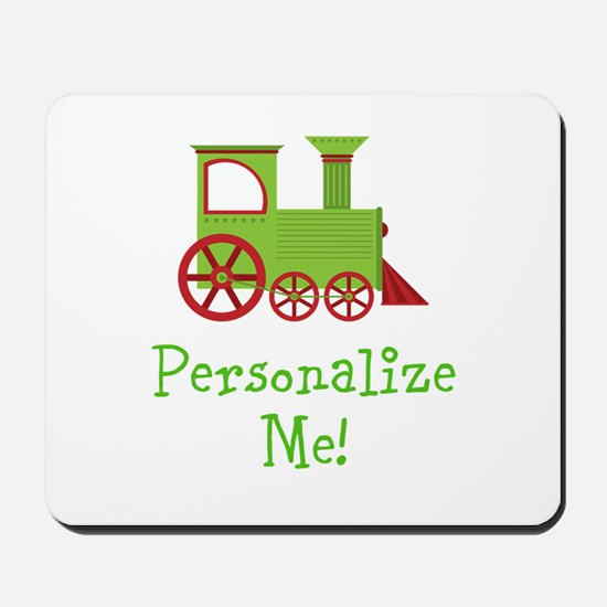 Custom Train Mousepad