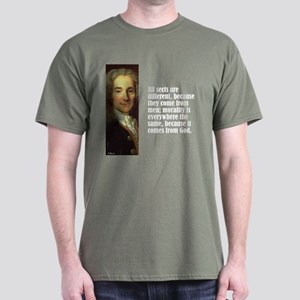"""Voltaire """"All Sects"""" Dark T-Shirt"""