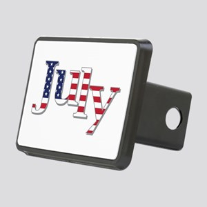 July Flag Hitch Cover