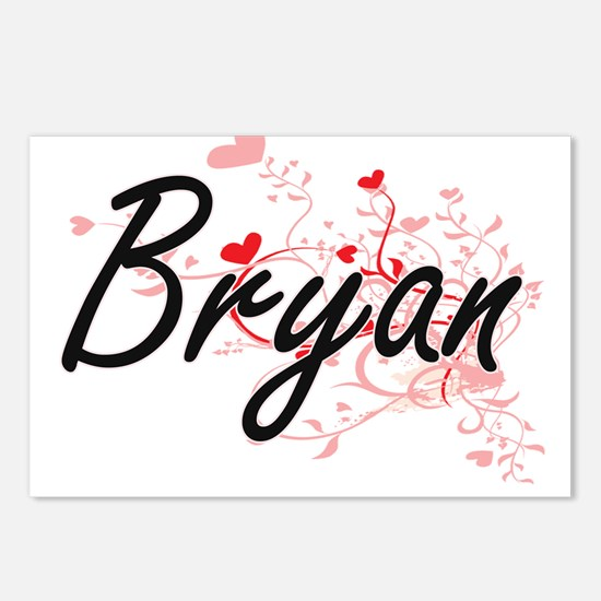 Bryan Artistic Design wit Postcards (Package of 8)