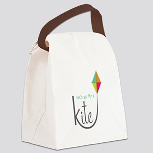 Let's Fly Canvas Lunch Bag