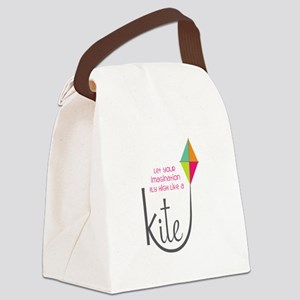 Imagination Fly High Canvas Lunch Bag